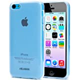 I-Blason Apple iPhone 5C Soft Gel Flexible TPU Case AT and T Verizon Sprint T-Mobile and All Carriers (Frost Clear)