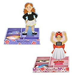 [Best price] Novelty & Gag Toys - Melissa & Doug Bundle #1 Magnetic Dress-Up, 2-Pack - toys-games