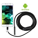 Shekar 2.0 Megapixel Android USB Endoscope Inspection Camera Waterproof for Smartphone with OTG and UVC Function (8.5mm, 16.4ft)