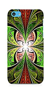 Amez designer printed 3d premium high quality back case cover for Apple iPhone 5C (Abstract Butterfly)