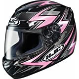 HJC Thunder Women's CS-R2 Street Bike Motorcycle Helmet - MC-8 / Medium