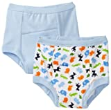 Green Sprouts Boys-baby Infant Training 2 Pack Underwear, Blue, 4T Color: Blue Size: 4T NewBorn, Kid, Child, Childern, Infant, Baby
