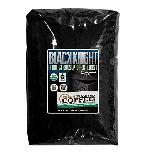 5 Lb. Bag, Black Knight Dark Roast OFT, Whole bean coffee, Fresh Roasted Coffee LLC. (Fresh Roasted Coffee Llc 5lb compare prices)