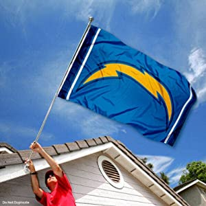 San Diego Chargers Large NFL 3x5 Flag by Sports Flags and Pennants Co.