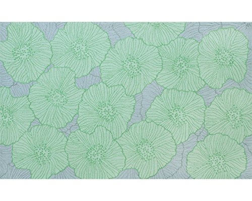 The Rug Market Armani Green Area Rug  Size 5'x8'