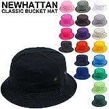 (ニューハッタン) NEWHATTAN / CLASSIC BUCKET HAT クラシックバケットハット 全19色 ハット BUCKET ランキングお取り寄せ