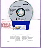 Windows 7 Professional SP1 64bit (OEM) System Builder DVD 1 Pack (New Packaging)