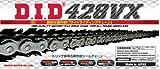 ∽カット済み DIDシールチェーン428VX-120L《スチール》クリップ・ジョイント/ヤマハ (225cc) セロー225(REAR DRUM)【年式】