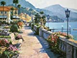 Bellagio Promenade by Behrens, Howard - Fine Art Print on PAPER : 30.5 x 23 Inches