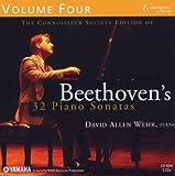 echange, troc Beethoven, Wehr - 32 Piano Sonatas 4
