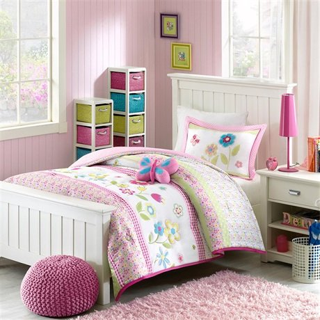 Kid Twin Bed Frame 4091 front