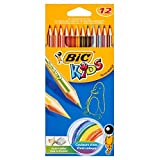 BIC KIDS Colouring Pencils pack of 12