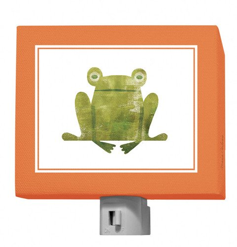 "Oopsy Daisy Forest Friends Night Light, Frog, 5"" x 4"""