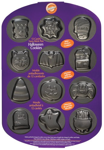 Wilton 12 Cavity Halloween Cookie Pan