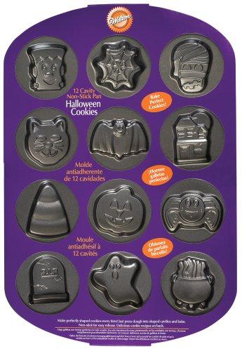 Wilton 12 Cavity Halloween Cookie Pan