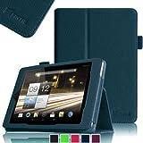 Fintie - Housse Adapté Pour La Tablette Acer Iconia A1-810 7.9 Pouces -Avec Un Porte-Stylet - Bleu Marine