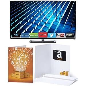VIZIO M552i-B2 55-Inch 1080p Smart LED TV with $100 Amazon Gift Card by VIZIO