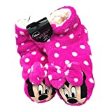 New Disney primark Ladies hot neon pink & white Minnie Mouse Slipper boots size 7 / 8