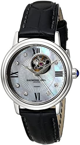 Raymond Weil Mother of Pearl Diamond Ladies Watch