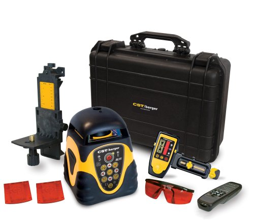CST/berger 57-ALHVD Electronic Self Leveling Horizontal and Vertical Interior and Exterior Rotary Laser Level with LD440 Detector