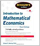 img - for Schaum's Outline of Introduction to Mathematical Economics, 3rd Edition by Edward Dowling (Sep 7 2011) book / textbook / text book