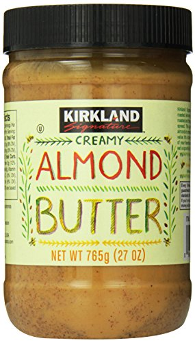 Kirkland Signature Creamy Almond Butter, 27 Ounce