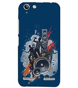 PrintDhaba MUSIC PARTY D-6593 Back Case Cover for LENOVO VIBE K5 PLUS (Multi-Coloured)