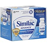 Similac Advance Infant Formula, Ready To Feed, 8-Fluid Ounces (Pack of 6)