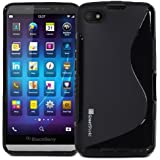GreatShield Guardian S Series Slim-Fit S-Line Design TPU Case for BlackBerry Aristo Z30 / A10 (Black)