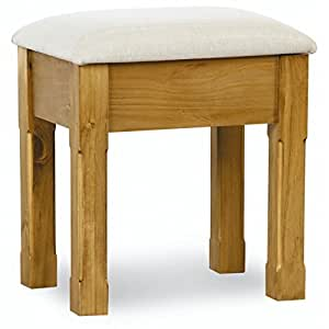 Spencer pine bedroom furniture dressing table stool for Bedroom furniture amazon