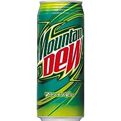 サントリー マウンテンデューロング缶 500ml×24缶