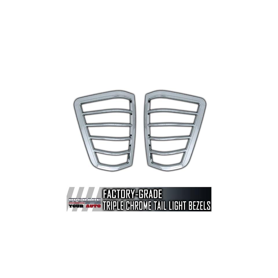 2004 2011 Nissan Titan Chrome Tail Light Bezels