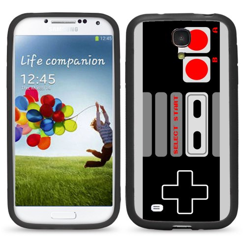 S4 Old School Gaming Controller For Samsung Galaxy I9500 Galaxy S4 Case Cover