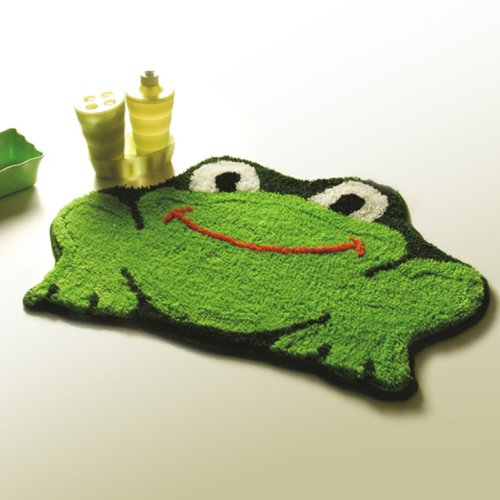 Naomi - [Frog] Kids Room Rugs (17.7 by 25.6 inches)