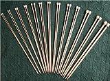 "15 size BrilliantKnitting (BR brand) 9"" straight single pointed bamboo knitting needles US 0-15"