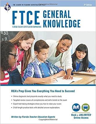 FTCE General Knowledge Book + Online (FTCE Teacher Certification Test Prep)