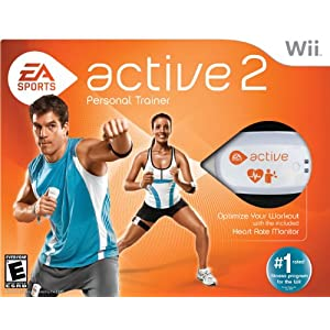 EA Sports Active 2 for Wii, XBox 360 or PS3