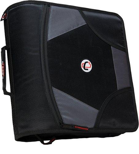 case-it-king-sized-zip-tab-4-inch-d-ring-zipper-binder-with-5-tab-file-folder-black-d-186-blk