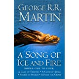 A Game of Thrones: The Story Continues Books 1-4: A Game of Thrones, A Clash of Kings, A Storm of Swords, A Feast for Crows (A Song of Ice and Fire)by George R. R. Martin