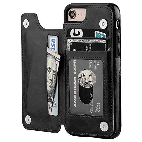 Iphone Card Holder Wallet Case