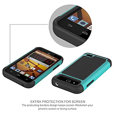 ZTE Speed / N9130 Case, INNOVAA Smart Grid Defender Graphic Case W/ Free Screen Protector & Touch Screen Stylus Pen from Innovaa