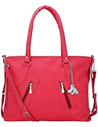 Lady Bar Womens Handbag ( Pink Bag)