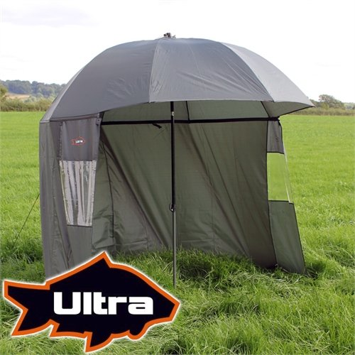 Ultra Fishing Angling 2.2m Umbrella w/ Zip Sides
