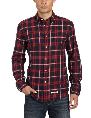 Marc O'Polo Men's 227 1394 42124 Casual Shirt Blue (899 Winter Night) 46