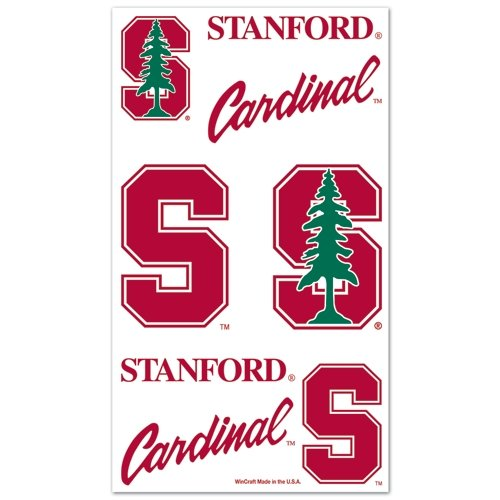 "Stanford Cardinal Official NCAA 1""x1"" Fake Tattoos by Wincraft"