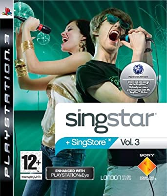 SingStar Vol. 3 - PlayStation Eye Enhanced (PS3) by Sony Computer Entertainment