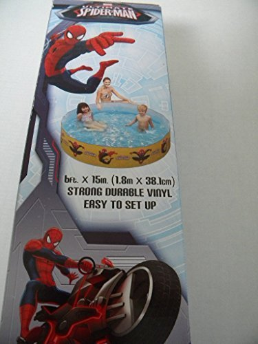 Ultimate Spiderman Quick Set Kiddie Pool 6ft X 15″ by PolyGroup kaufen