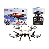 Syma X5SW Plus 2.4G 4CH 6-Axis Gyro RC Headless Quadcopter Drone With WiFi FPV Camera (Silver)