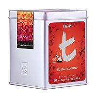 Dilmah Tea, Italian Almond Tea, 20-Count Luxury Leaf Teabags (Pack of 2)
