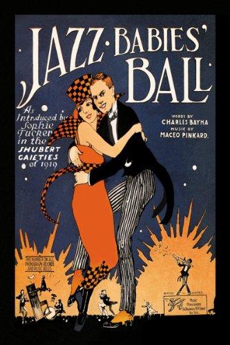Art Poster, Jazz Babies' Ball - 20X30